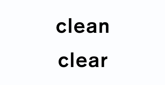 CleanAndClear